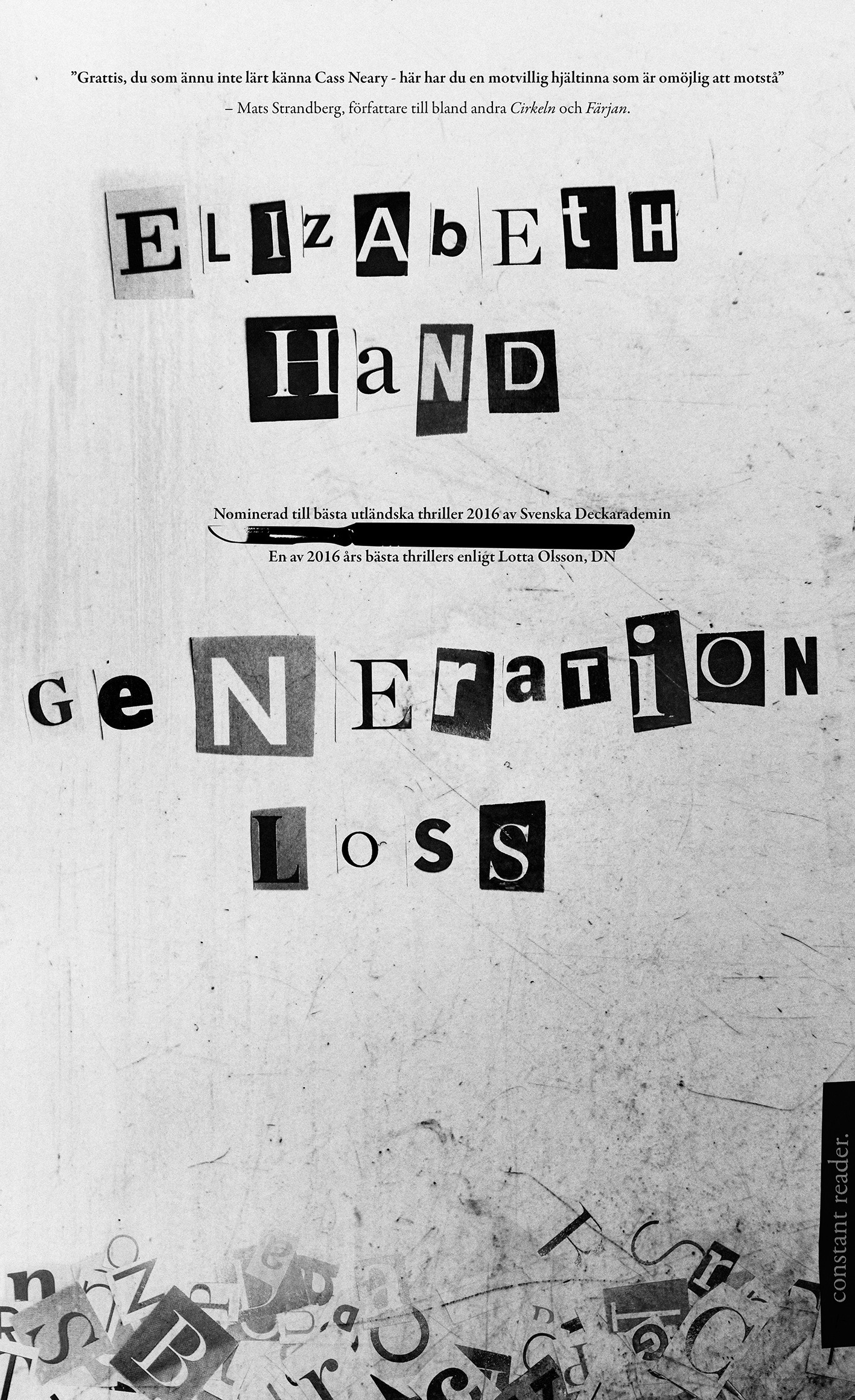 Generation Loss omslag